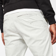 Vetar Cuffed Slim Chino - Cool Grey 920