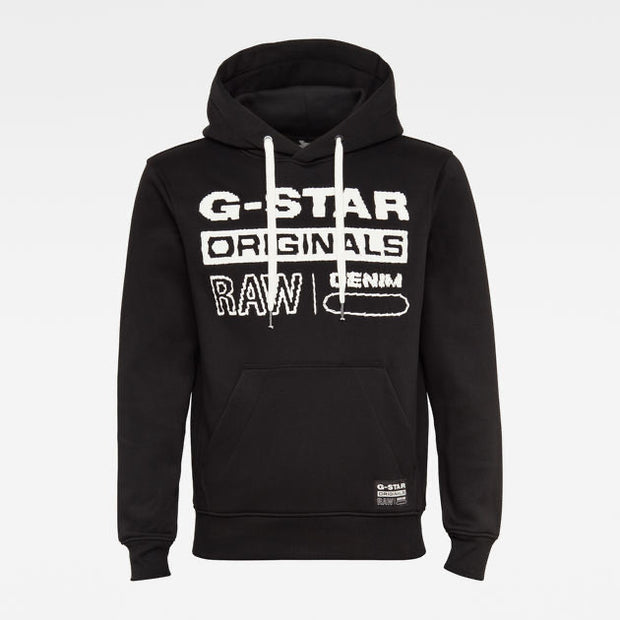 Originals Hooded SW L/S Dk Black 820