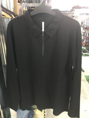 Men's ls jersey polo
