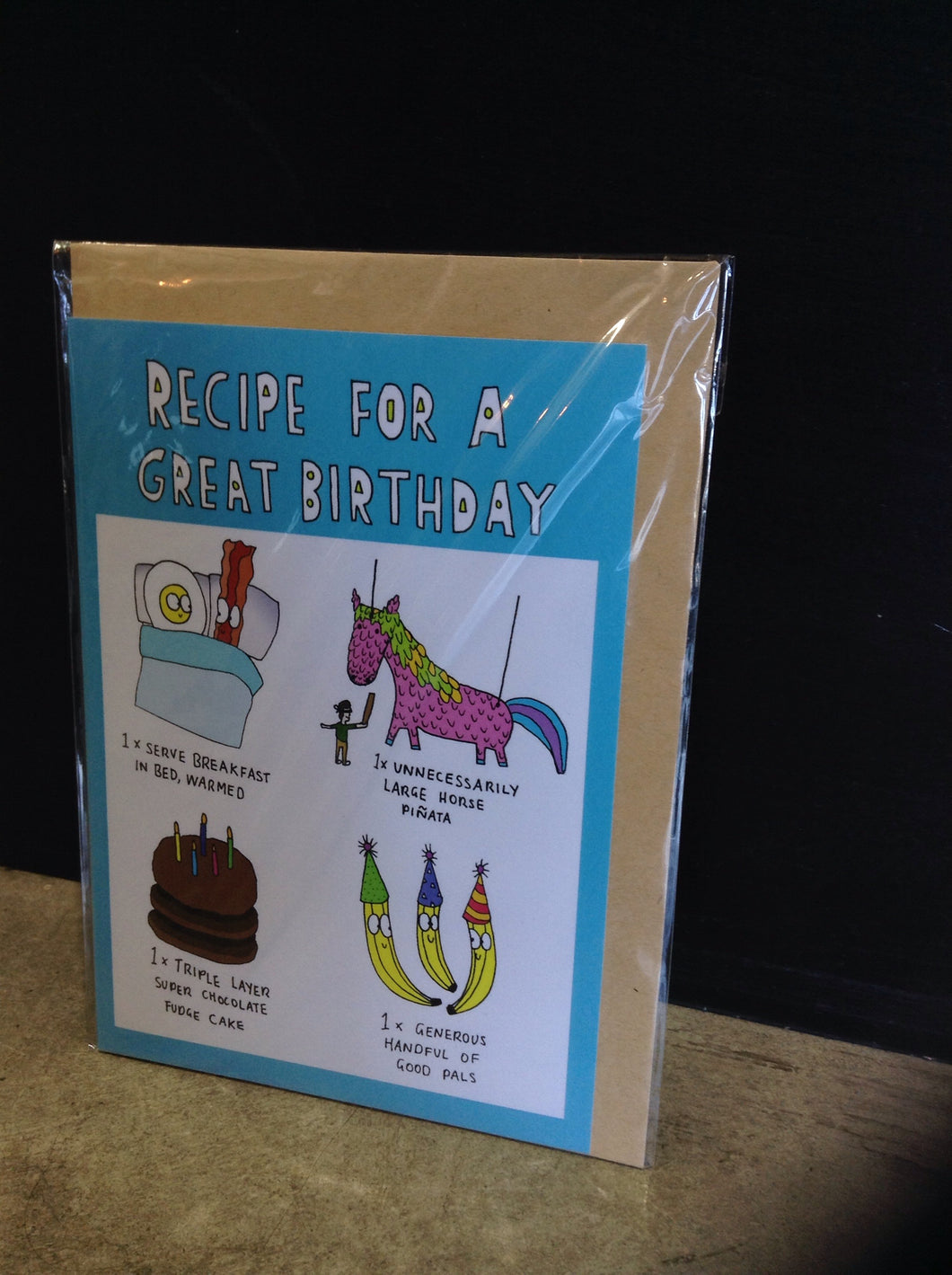 Lemon cards recipe for a great bday