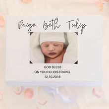 Load image into Gallery viewer, Christening baby gift box