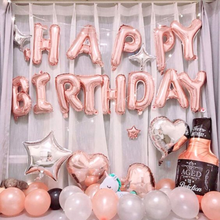 Load image into Gallery viewer, Happy Birthday balloon bunting
