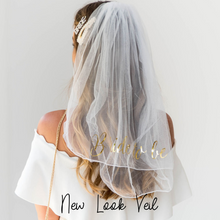 Load image into Gallery viewer, Bride to be Veil Bridal shower veil