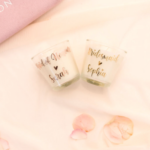 Personalized custom candles