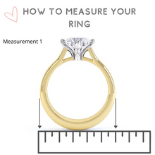 Load image into Gallery viewer, Custom acrylic ring boxes wedding ring box how to measure