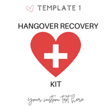 Load image into Gallery viewer, Hangover recovery kit ideas