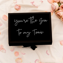 Load image into Gallery viewer, Wedding bridal party gift box idea