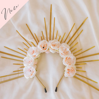 Floral Halo Crowns