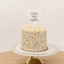 Load image into Gallery viewer, Customized acrylic cake topper