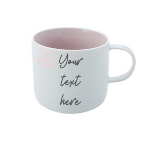 Your text here custom mug