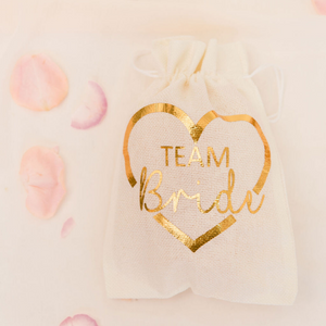 Team bride custom bags