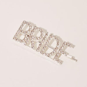 Bride diamante hair clip hair accessory