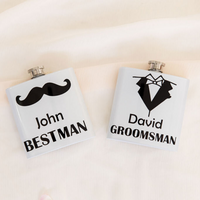 Gifts for the Men - Personalised Hip Flasks