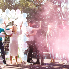 Load image into Gallery viewer, Gender reveal smoke powder cannon popper