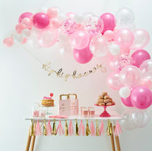 Load image into Gallery viewer, pink balloon arch