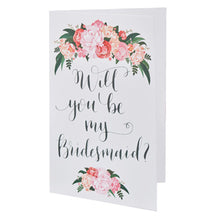 Load image into Gallery viewer, Will you be my Bridesmaid card Bridesmaid proposal idea