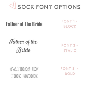 Sock font options