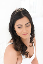 Load image into Gallery viewer, Bride to be Tiara alice band crown