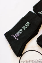 Load image into Gallery viewer, Best man gift personalized socks
