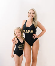 Load image into Gallery viewer, I got it from my Mama matching swimsuit