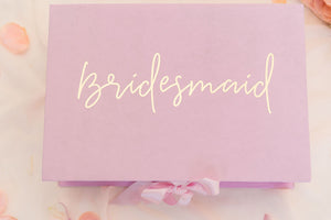 Bridesmaid Proposal Box Gift Box