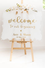 Load image into Gallery viewer, Acrylic Signage A1 A2 Wedding acrylic perspex signs