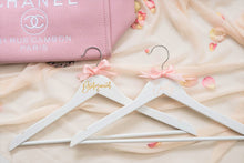 Load image into Gallery viewer, Personalized Bridal Party Wooden Hanger Bridsmaid Hanger