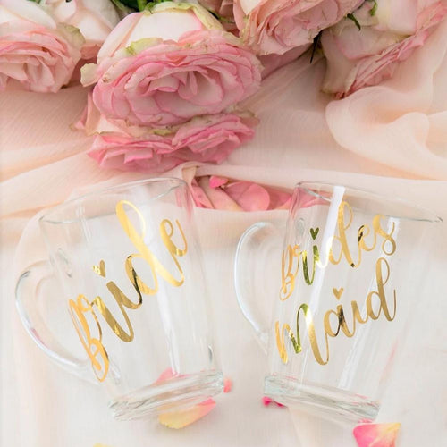 Custom Clear Glass Mugs Tea Cups