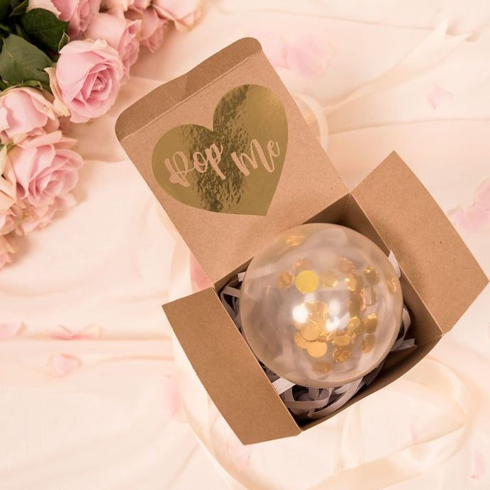 Pop Me Balloon proposal boxes