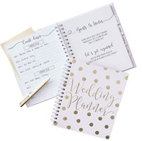 Luxury Gold & Rose Gold Wedding Planners