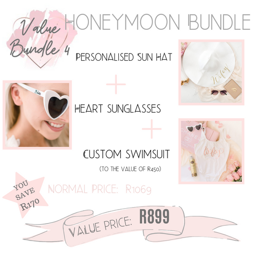 Honeymoon value bundle essential honey accessories
