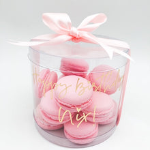 Load image into Gallery viewer, Personalized macaron gift box