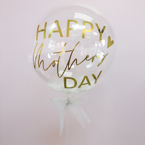 Mothers Day personalized bubble balloon