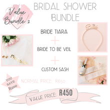 Load image into Gallery viewer, Bridal shower bundle value bundle