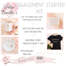 Load image into Gallery viewer, Engagement starter kit value bundle