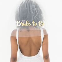 Bride-to-Be Veil