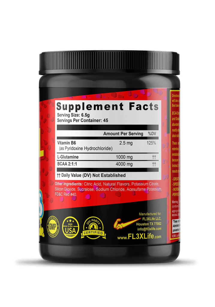 FL3X Fuel BCAA Shock