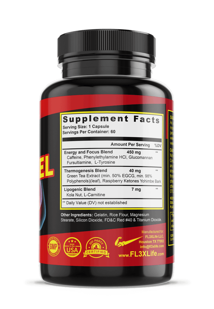 FL3X Fuel Oxy Burn Advanced Fat-Loss Formula