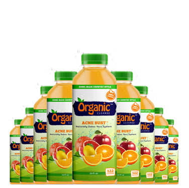 Organic Cleanse Acne Bust Citrus Fruit Juice purifies and detoxes the internal organs and stimulates circulation.