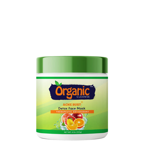 Organic Cleanse Acne Bust Face Mask Detox is a maximizing facial wrap that will stimulate and nourish your skin back to normal.