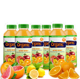 Organic Cleanse Acne Bust Citrus Juice Natural Detox has ingredients in it that assist with restoring nutrioents, minerals, and vitamins the body needs.