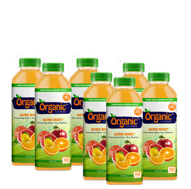 Organic Cleanse Acne Bust Citrus Juice Beverage is 100% customer satisfaction guaranteed, and we stand behind our products.