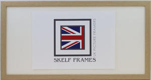 20mm Light Oak Veneer Panoramic Frame