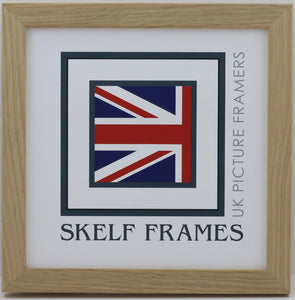 20mm Light Oak Veneer Wood Frame Square Frame