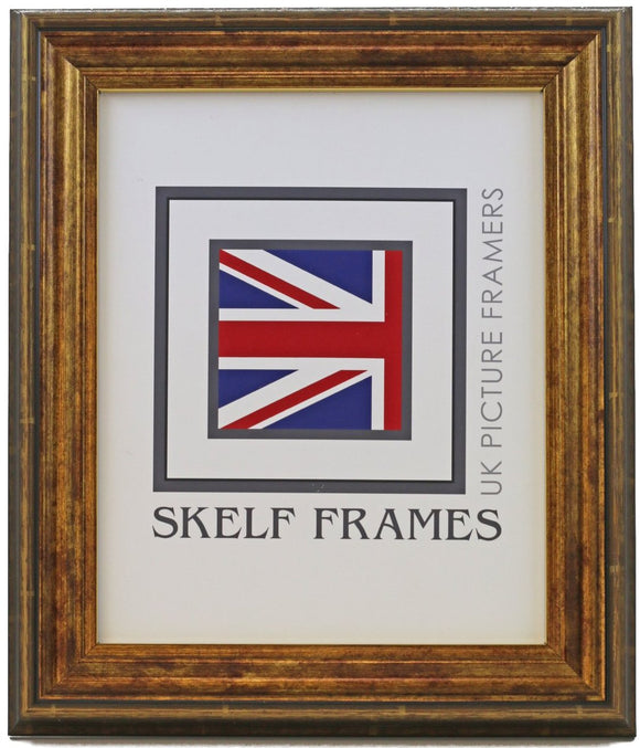 Antique Gold Frame - Metric