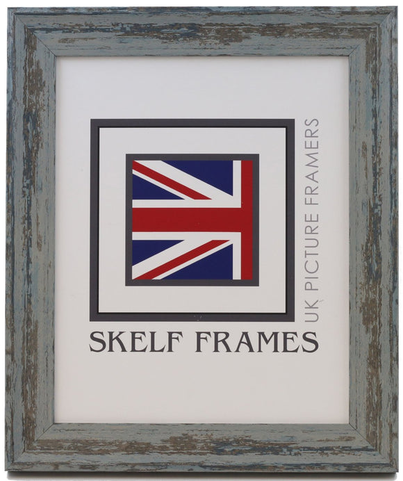 Shabby Blue Frame - CURRENTLY OUT OF STOCK