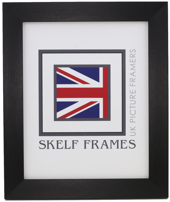 Brush Black Frame