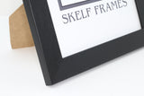 Brush Black A3, A4 & A5 Size Frames with Glass