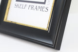 Black & Gold Cornwall Range Frame with Glass