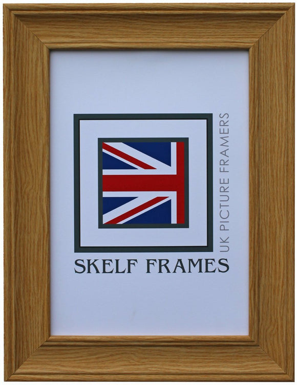Oak Wood Grain Effect CW Range A1, A2, A3 & A4 Size Frames